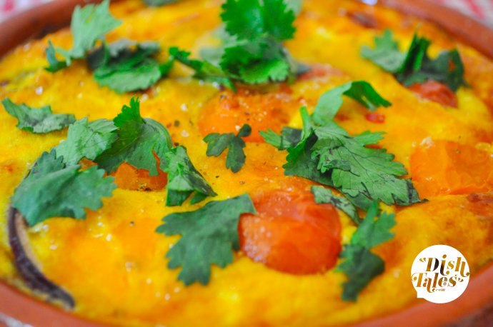 Oven Spiced Persian Omelet Blog Images (5 of 5)