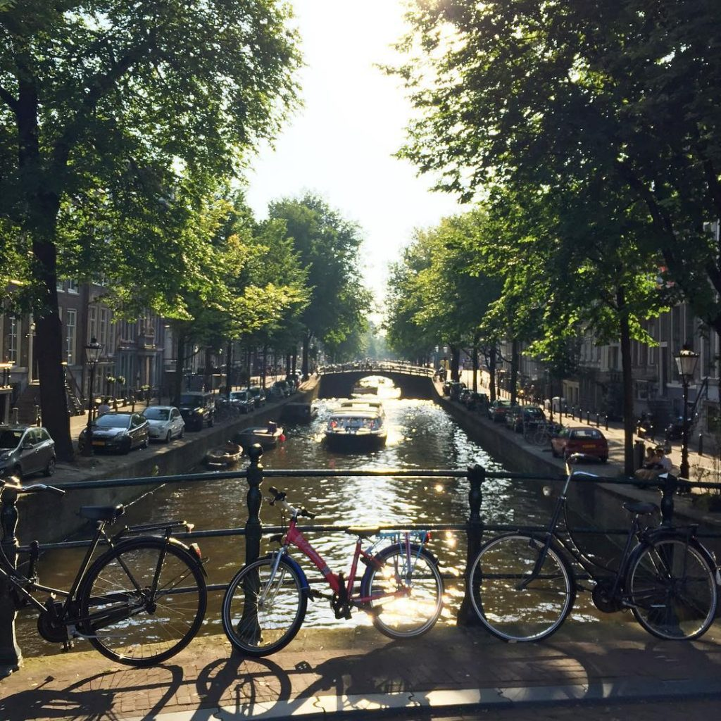 Isnt she spectacular? Everlasting love for my Amsterdam during thesehellip